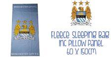 Manchester City Pile Sacco A Pelo Con Cuscino PANNELLO 60x150cm Regalo Ideale Nuovo