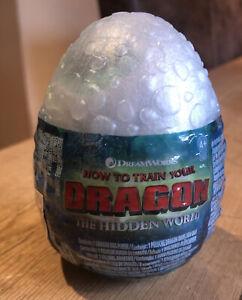 How to Train Your Dragon The Hidden World White Egg Lightfury Soft Plush Toy NEW