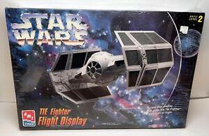 AMT ERTL - Star Wars Tie Fighter Flight Display Model Kit - New in Box