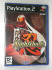 NIGHTSHADE SONY PS2 PLAY STATION PS 2