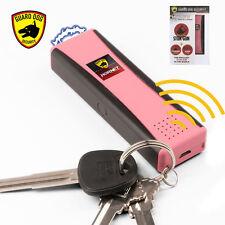 HORNET 2 Mini KeyChain STUN GUN w/ Panic Alarm & LED Flashlight (PINK) Guard Dog