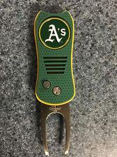 New Oakland A's Athletics Mlb Golf Ball Marker + Divot Repair Tool