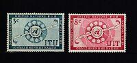 UNO New York postfrisch Jahrgang 1956