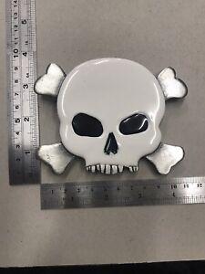 15/11)Skull Metal Belt Buckle Bergamot 2006