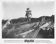 INFRA-MAN original 1976 SCI-FI movie publicity lobby still photo b/w