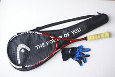 Head Neon2 130 Innegra YouTek CT2 d30 Squash Racquet /Racket with Cover+Glove
