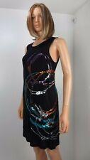 NWT Escada Sport Swarovski Dress, Black, Sz M,