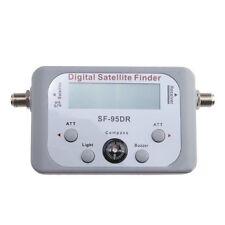 Digital LCD Satellite Finder Satfinder Signal Strength Meter Sky Dish Freesat Ku