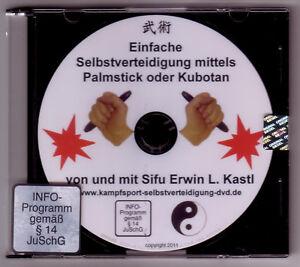 DVD  Einfache Selbstverteidigung mittels Palmstick Kubotan Alltagsgegenständen