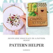 Needle minder & Pattern Helper 2 in 1 pattern holder embroidery cross stitch