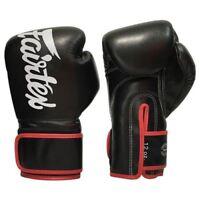 Fairtex BGV14 Muay Thai Gloves - Black/Red