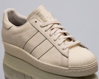 adidas Originals Superstar 80s Men's Chalk White Athletic Casual Sneakers Shoes