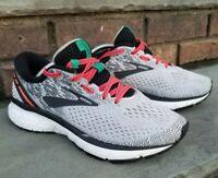Cleaned Brooks Womens Ghost 11 Running Walk Shoes White/Pink/Black B 8 Hoka