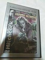 Dvd  AGENTE SECRETO   (NUEVO PRECINTADO)de Alfred  hitchcock