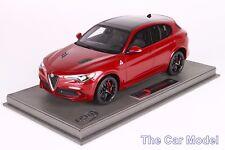 In stock Alfa Romeo Stelvio Quadrifoglio Rosso Competizione, Ltd 500 pc BBR 1/18