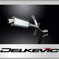 DUCATI MULTISTRADA 1200 2016-2018 DECAT 225mm OVAL STAINLESS EXHAUST KIT