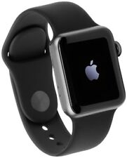 Apple Watch Series 3 GPS Cellular 42mm Alu schwarzes Armband Smartwatch