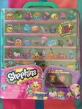 New Shopkins Season 5 Collector's Display Case w 2 Exclusive Figures Official