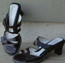 Beautifeel Begonia  Brown Croc Leather Sandals  EUR 38 - US 7.5   $170 Retail