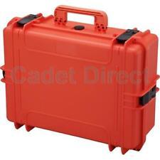 MAX505 IP67 Rated Boîte de rangement, orange (vide)