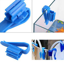 Plastic Aquarium Tank Water Pipe Clamp Hose Tube Rod Fixing Clip Mount Holde