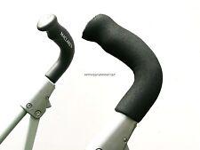 impugnatura per FOR Maclaren Techno XLR XT classico nero schiuma x2