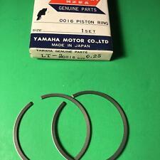 Yamaha NOS RS100 YL2 L5T LT2  PISTON RING SET 1ST .25mm Oversize  335-11601-10-0