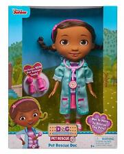 Doc McStuffins Pet Rescue Doc Doll Ages 3+ New Toy Doctor Suit Mobile Play House