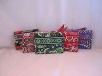 Vera Bradley EURO WALLET Trifold Women U Pick Design New