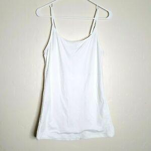 Maidenform 83266  Shaping Camisole Size 3X White Stretch Body Shapewear