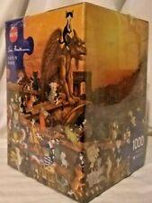 Heye 29750 Cats In Paris 1000 piece jigsaw puzzle Hartmann, sealed triangle box
