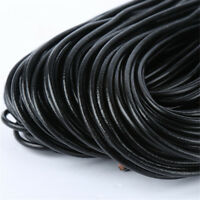 10 Meter Leather Cord Bracelet Necklace DIY Jewelry Making String Cords 1/2/3 mm