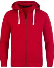 Ralph Lauren Polo Mens Zip Up Hoodie Size XL Extra Large Red