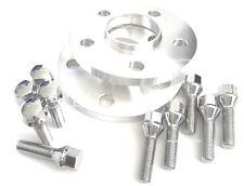 10mm Hub Centric Rims Wheels Spacers 5x120 72.56 14x1.25 Bolt Chrome BMW 5 6 7