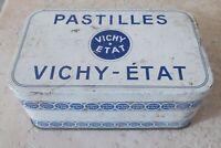 Boite métal PASTILLES VICHY ETAT Ancienne bonbons digestion pharmacie