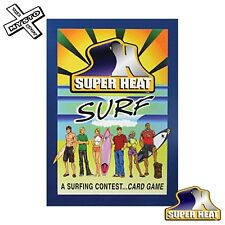 SUPER HEAT SURFING CARD GAME SURFER SURFBOARD SURFING COMPETITION TRAVEL GIFT