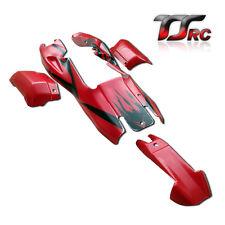 Karosserie Rot mit schwarzem für HPI Baja Rovan 5B