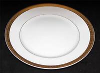 Bernardaud NAXOS White Paneled Embossed Rectangles Salad Plate