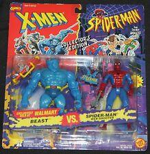1994 Toy Biz Marvel X-Men Spider-Man Action Figure Walmart Exclusive MOC Beast