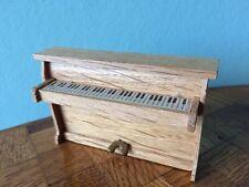 Klavier  Lundby Puppenstube Puppenhaus 1:18 dollhouse piano