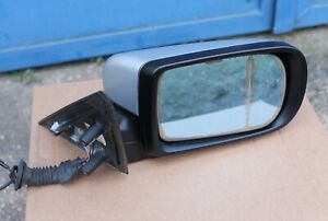 BMW E38 750 740 735 730 RIGHT OUTSIDE ELECTRIC HEATABLE MIRROR SILVER SILBER OEM
