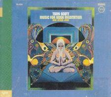TONY SCOTT Music for Yoga Meditation and Other Joys CD JAZZ AMBIENT Sitar