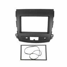 Radio Fascia for MITSUBISHI Outlander 2 Din GPS DVD Stereo Panel Dash Trim Kit