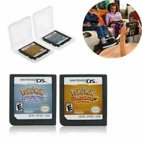 For Nintendo 3DS NDSI NDS NDSL Pokemon³ HeartGold SoulSilver Card US Version