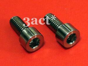 2pcs M6 x 13mm Titanium / Ti Bolts - Avid Sram X9, X7, Rocket Shifter Lever