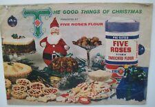Vintage Five Roses Flour Cookbook Baking Christmas Recipe Booklet Leaflet 1960's
