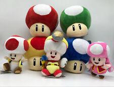 Super Mario Mega Mini 1-Up Super Mushroom Plush Soft Toy Stuffed Animal Doll
