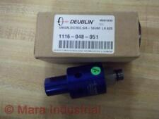"Deublin 1116-048-051 Coolant Union 5/8""-18 UNF LH"