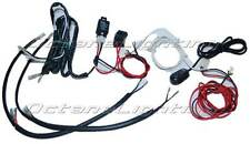 Halo LED Angel Eye Daytime Running Lights Relay Wiring Harness On/Off Switch Kit