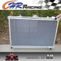 aluminum RADIATOR FOR NISSAN SKYLINE S13 CA18 R32 RB20